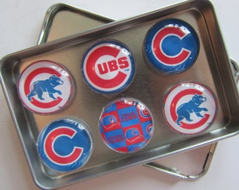Chicago Cubs Fridge Magnets, Chicago Cubs Decor, Chicago, Chicago Cubs, Chicago Cubs Baseball Refrigerator Magnets