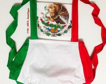 Mexican Flag Romper