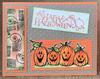 Happy Halloween Card Free Shipping
