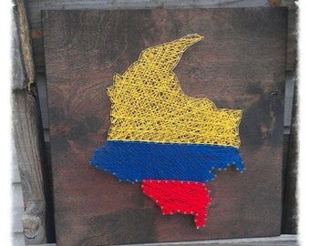 MADE TO ORDER Country String Art, Customizable String Art, State String Art