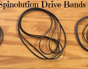 Spinolution Drive Bands, Hopper, Firefly, Echo, Mach III, Queen Bee, King Bee, Pollywog Spinning Wheels, Extra Drive Bands, Spare Bands