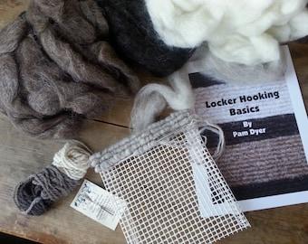 Locker Hooking Trivet Kit