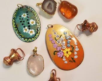 Vintage pendants/charms lot. SALE