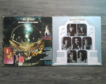 Three Dog Night - Captured Live At The Forum/Harmony - (1969, 1971) - Vinyl Albums