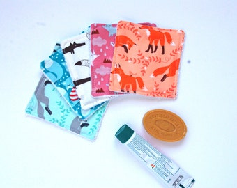 Organic Fox Washable Baby Wipes for Baby - Zero Waste Home