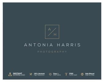 Photography Logo Design. Initials Logo Design. Instant Download Logo. Blog Logo Design. Photographer Logo. Business Logo. Elegant Logo