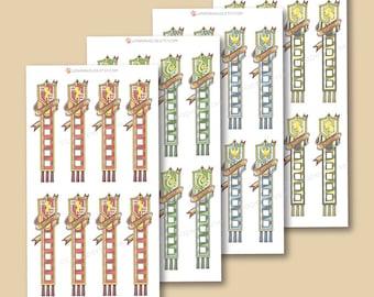 Harry Potter Häuser Checklisten - Harry Potter-Planer-Aufkleber, EG-Aufkleber, persönliche Planer
