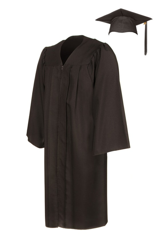 American Style Graduation Gown and Cap Matte Finish
