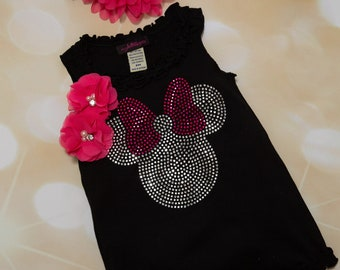 Girls Black Sleeveless  Summer Dress Ruffle Girls Dress with Large Rhinetone Mini Applique with Chiffon