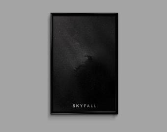 Skyfall 11 x 17 Minimalist Movie Poster