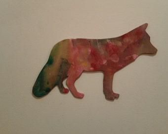 Personalised Wolf Pattern