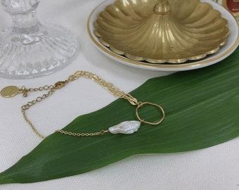 melt&float_Baroque Pearl Bracelet