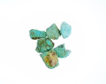 144.5 Carats Turquoise Nugget NATURAL Hard Cripple Creek Colorado #172