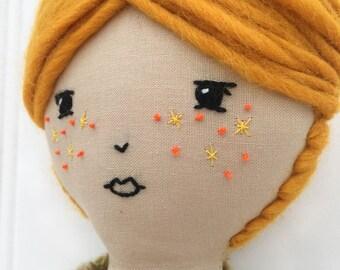 Petite Heirloom doll No. 8