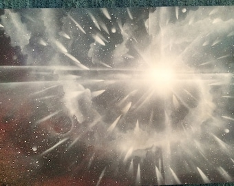 shinny star - spraypaint