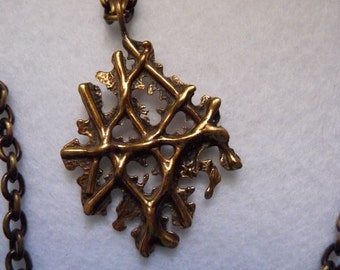 Necklace. Finland. Bronze.