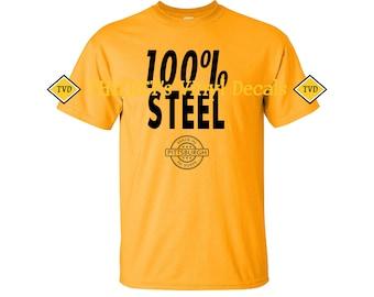 100% Steel t-shirt