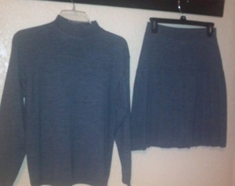 Wool Sweater & Skirt