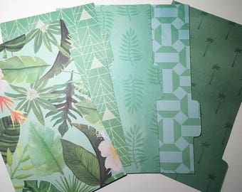 Breeze - planner dividers, personal planner dividers, happy planner dividers, planner accessories