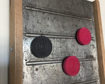 Magnetic Memo Board Repurposed Vintage Meat Slicer