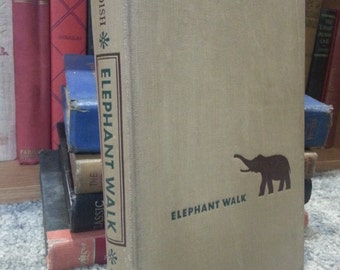 Elephant Walk, by Robert Standish, dated 1949