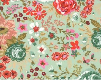 Moda MERAKI, Meraki Nefertari Feldspar 30490-12, Moda Fabrics, Basic Grey, Shabby Chic, Quilt, Baby Nursery, Quilting, Fabric By The Yard