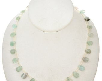 10mm x 10mm Fluorite Beads 16 inch Long Strand - Gemstone Beads - Jewelry Supplies