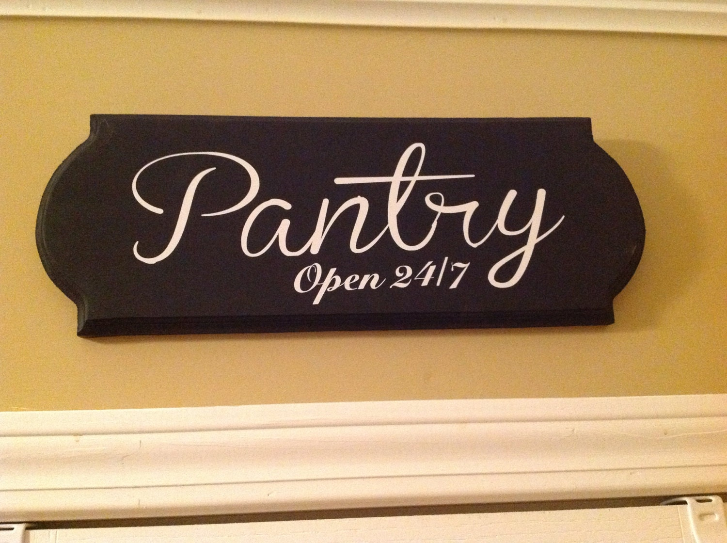 Kitchen Sign Decor Large Pantry Sign Wooden Sign Kitchen Decor Wall Decor Wooden