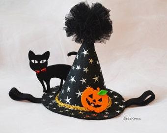 halloween headband baby, witch hat headband, pumpkin headband, halloween headband adult, witch hat, halloween photo hat, witch costume