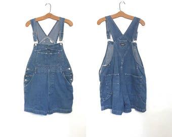 Vintage 90's OVERALLS Shorts Bib Overalls Jordache Bib Overalls 80s Romper Shorts Jumper 90's Clothing Onesie New Wave Painters Artists J