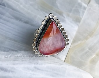Orange Chakra Stone Ring