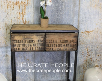 shipping crate furniture. FREE SHIPPING - Small Zoria Crate Entry Table Custom Furniture Shipping