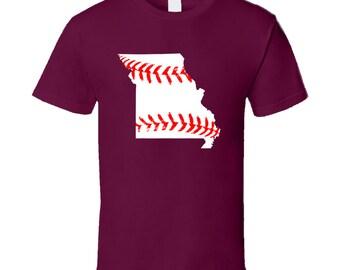 Missouri State Baseball T Shirt