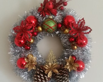 Vintage Inspired Christmas Wreath