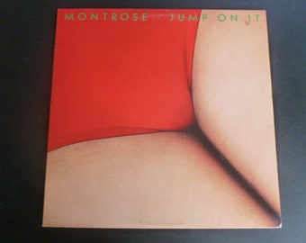 Montrose Jump On It Vinyl Record LP BS 2963 Warner Bros. Records 1976
