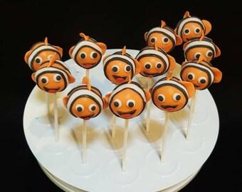 """Cake pops Clown fish """"Nemo Inspired""""(Order of 13)"""