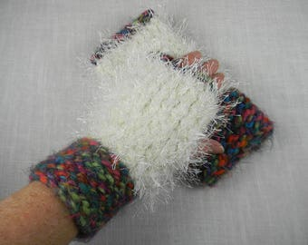 Wrist Warmers, Hand Knit Wrist Warmers, Texting Gloves, Texting Mittens, Fingerless Gloves, Fingerless Mittens
