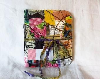 Collaged Mess #6 - Handmade Art Journal