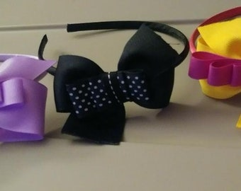 headbands. Bows. Hair accessories for girls