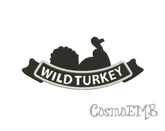 8 Size Wild Turkey  Embroidery designs Machine Embroidery -DOWNLOAD  Digital INSTANT