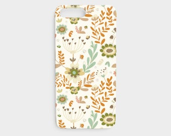 Cream Whimsy Floral iPhone 7/8 Case