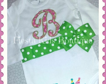 Baby girl clothes, monogram girl outfit, newborn girl, coming home outfit girl, birthday girl shirt, baby girl photo outfit