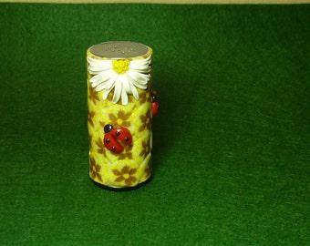Salt Shaker, pepper shaker, salt and pepper, Salt pepper shakers, decor polymer clay