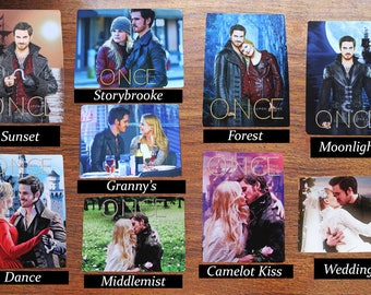 Captain Swan/Captain Hook Magnets