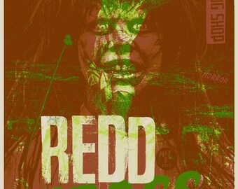 Official Redd Kross Screen Printed Concert Gig Poster Cleveland 2017