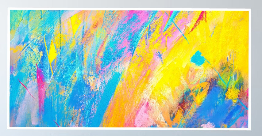 Large Printable Abstract wall Art,download painting, Downloadable ...