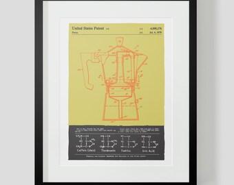 Coffee Press Kitchen Print