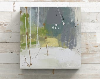 Small Original abstract painting, canvas, acrylic painting, abstract painting, 12x12x1.5 small abstract painting, contemporary art