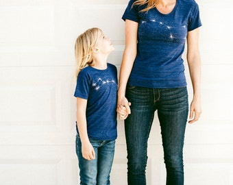 Mommy and Me Outfit, Matching Shirts Mother Daughter Son, Mother Gift, Mother's Day Gift Mom and Baby T-Shirt Set, Big Little Dipper Shirts