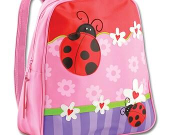 Vinyl Stephen Joseph Go Go Ladybug Backpack Diaperbag